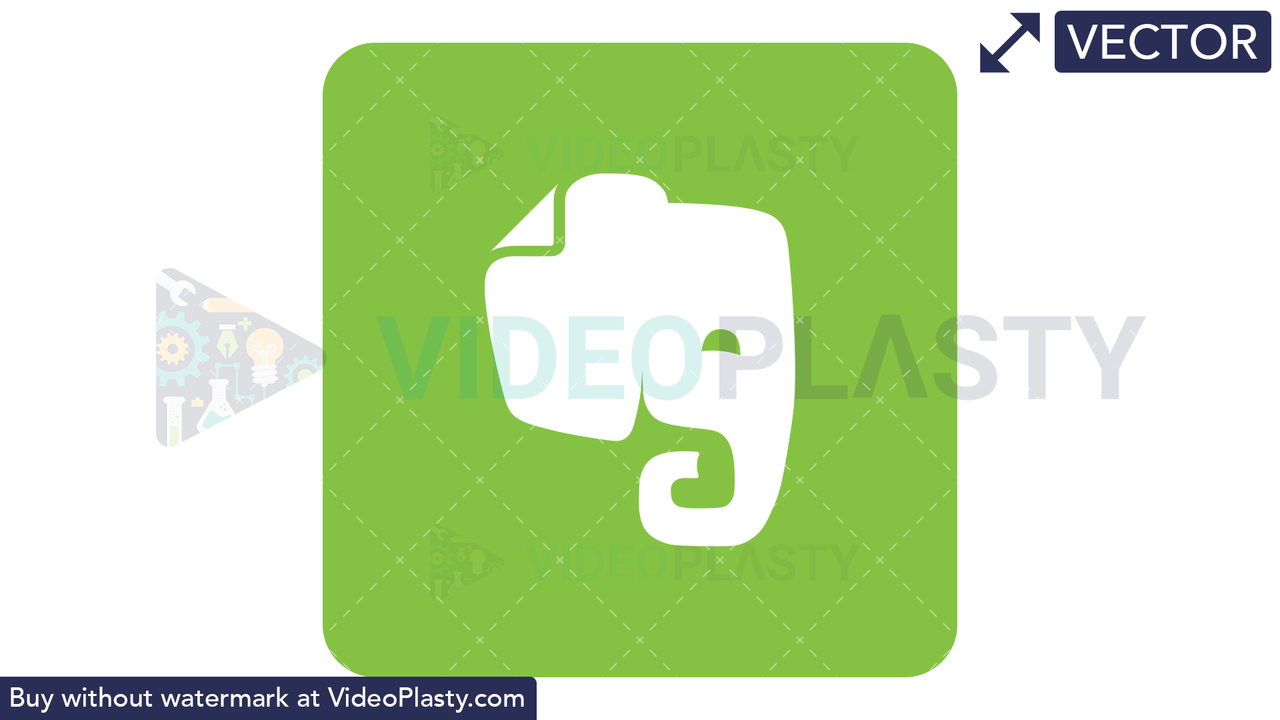 Evernote Icon Vector Clipart