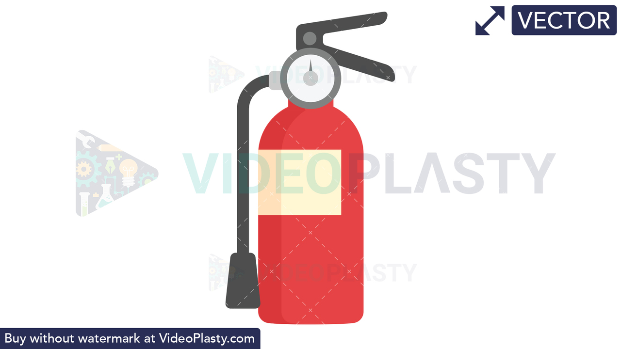 Fire Extinguisher Icon Vector Clipart
