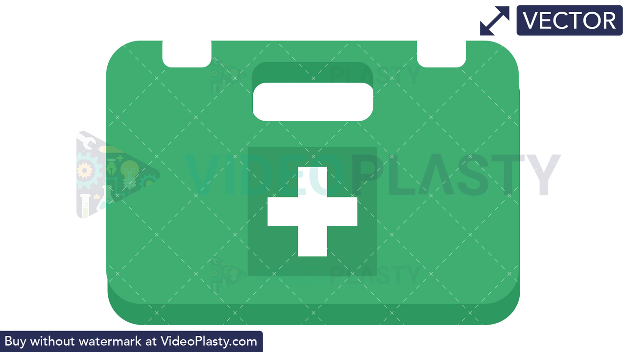 First Aid Kit Icon Vector Clipart