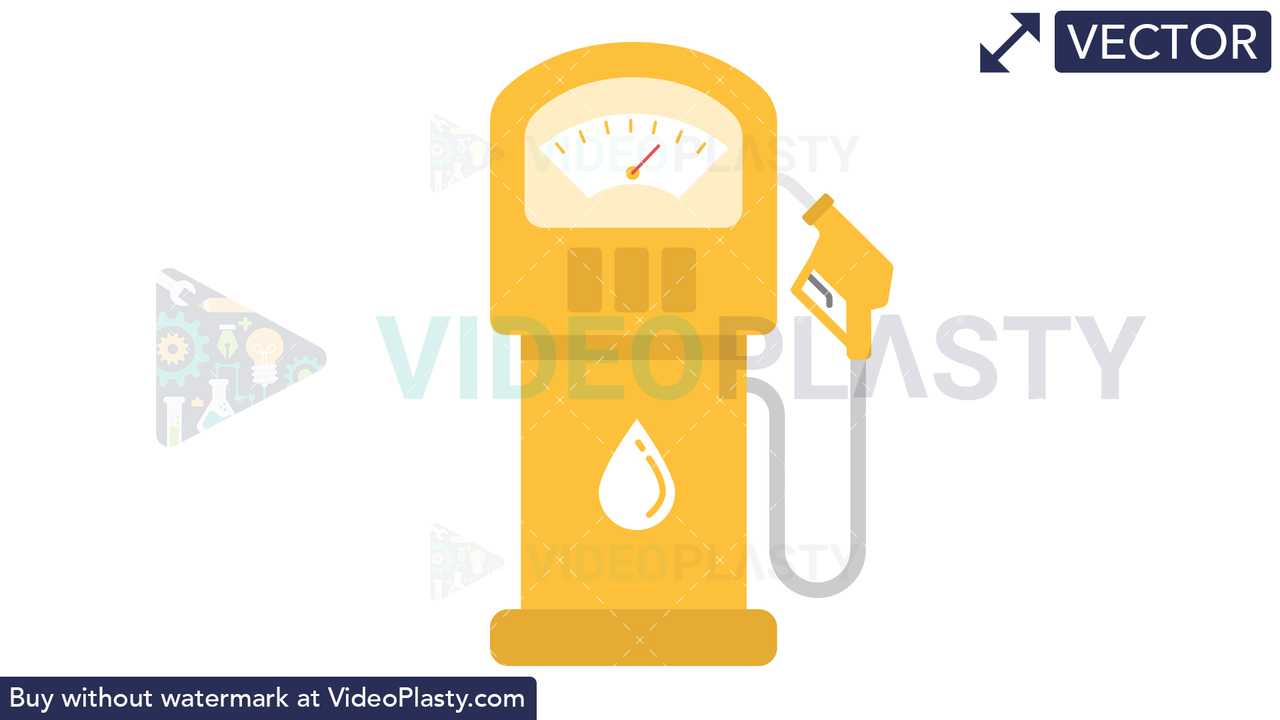 Fuel Icon Vector Clipart