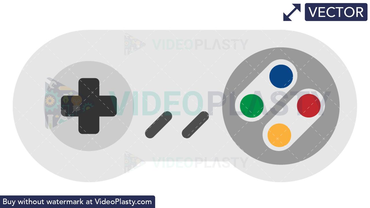 Game Controller Icon Vector Clipart