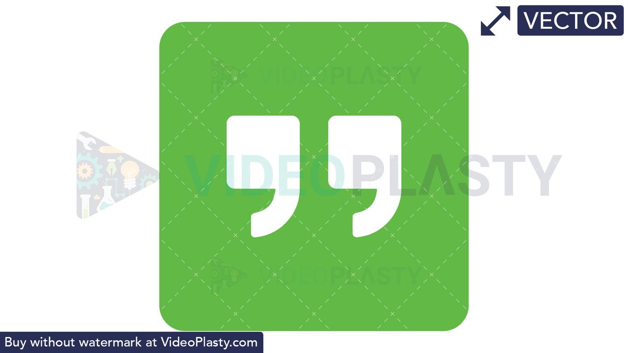 Google Hangouts Icon Vector Clipart