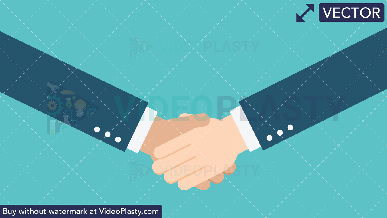 Hand Gesture: Hand Shake Vector Clipart
