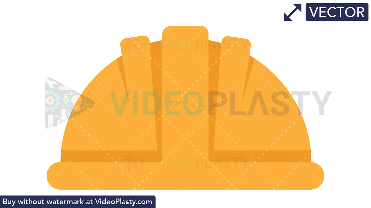 Hard Hat Icon Vector Clipart