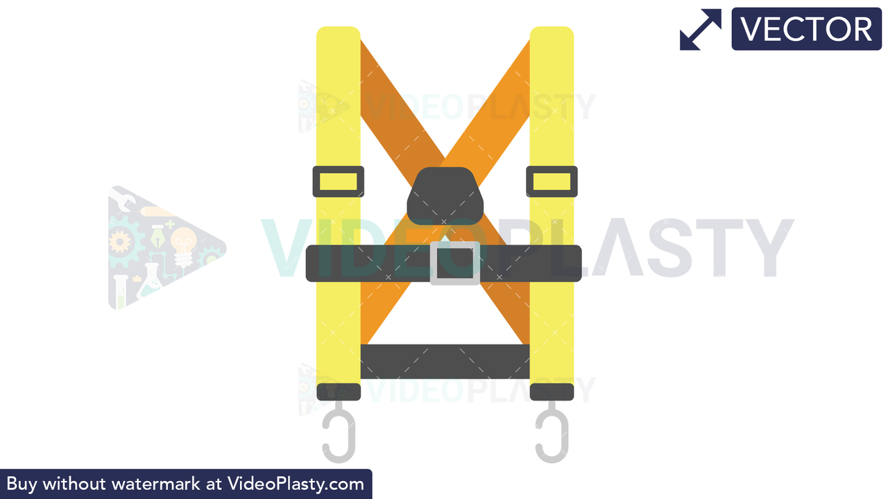 Harness Icon Vector Clipart