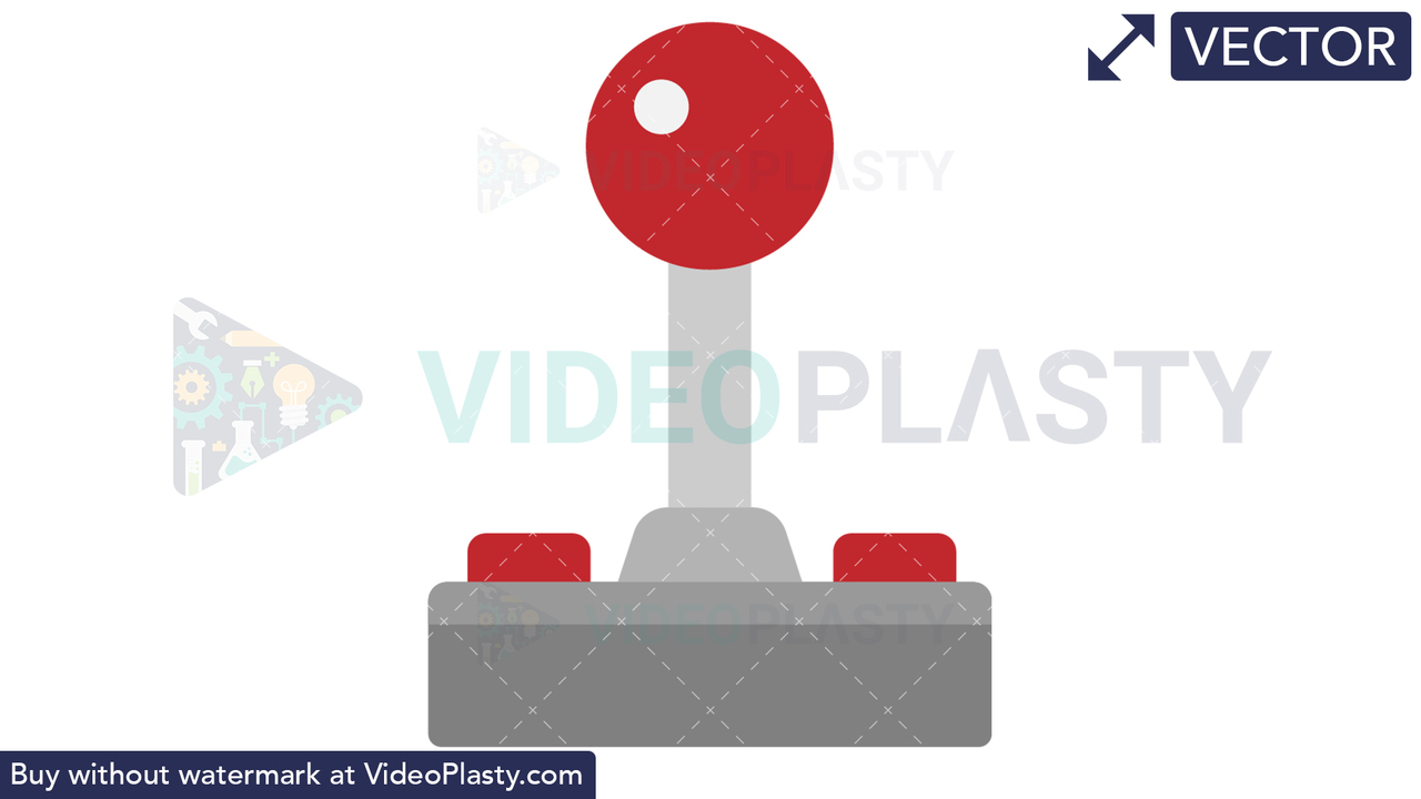 Joystick Icon Vector Clipart