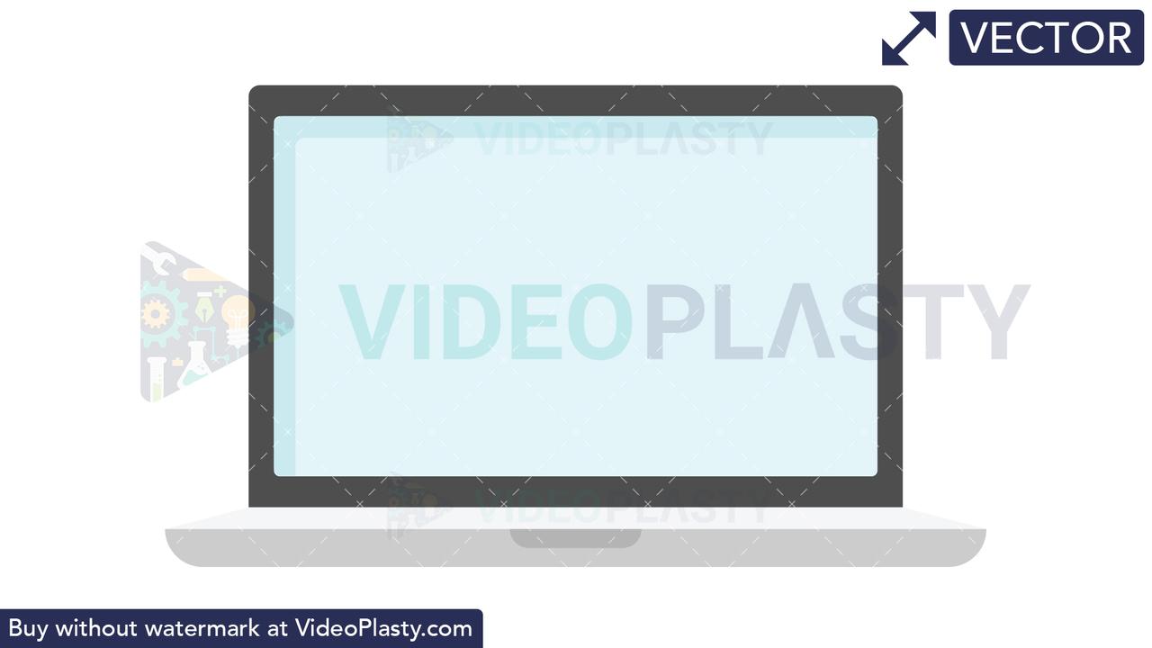 Laptop Icon Vector Clipart