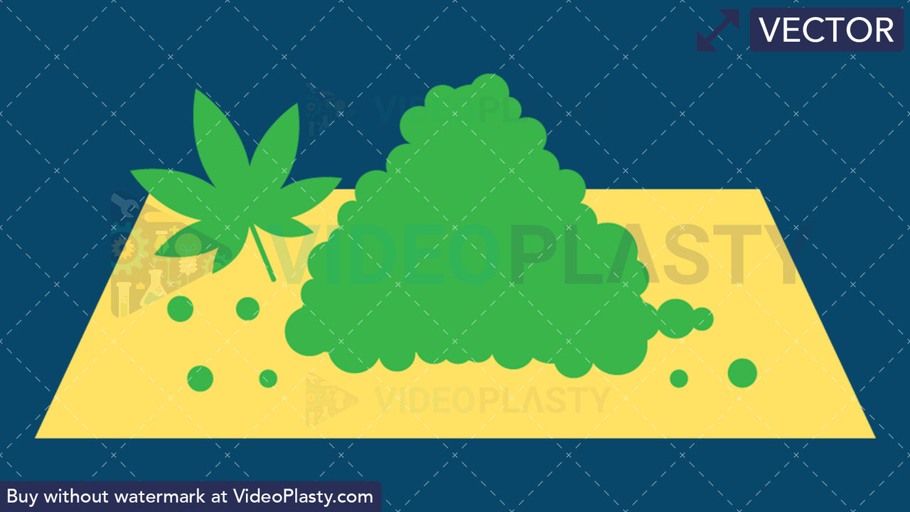 Medical Marijuana Vector Clipart