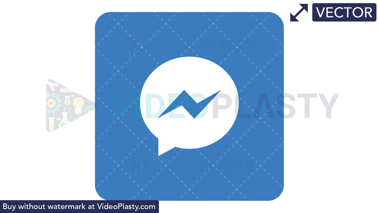 Messenger Icon Vector Clipart
