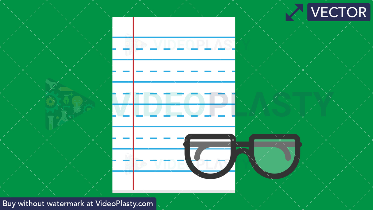 Notepad Flat Icon Vector Clipart