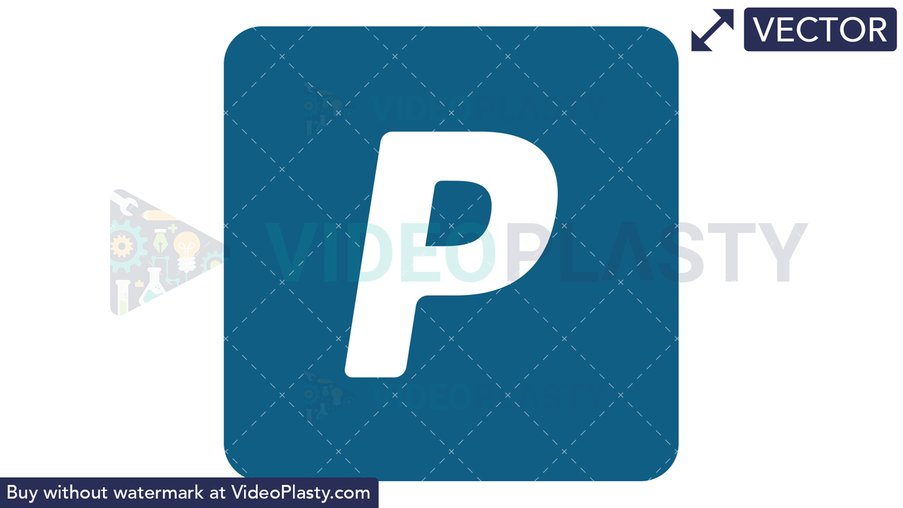 PayPal Icon Vector Clipart