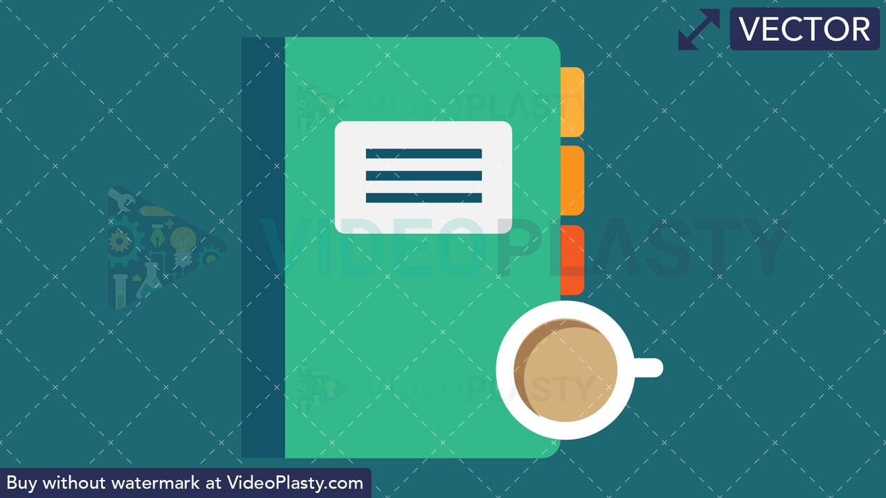 Reports Flat Icon Vector Clipart
