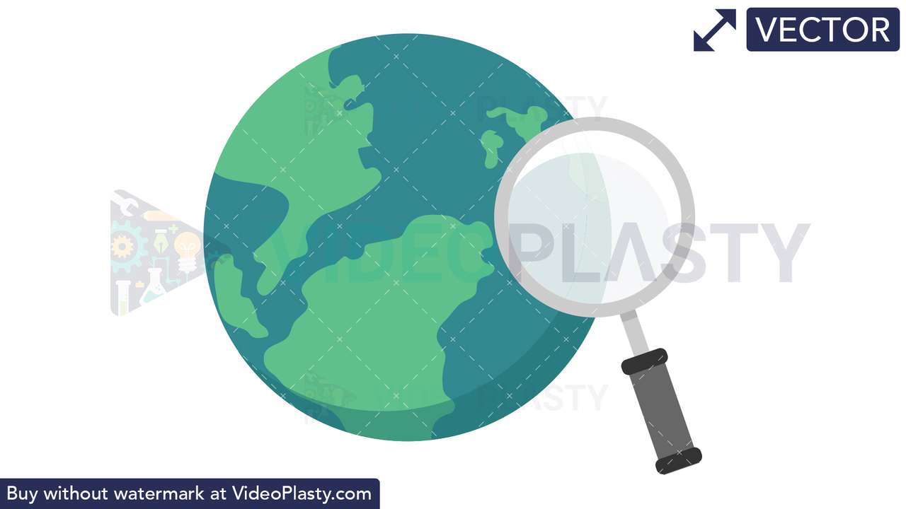 Search the Internet Icon Vector Clipart
