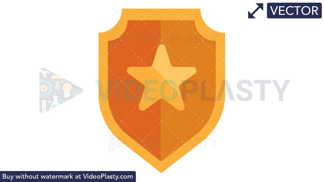 Shield Icon Vector Clipart