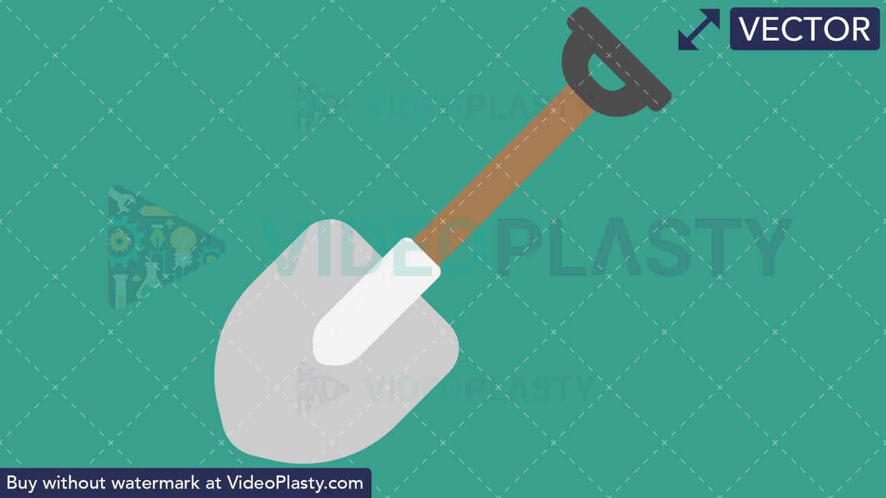 Shovel Icon Vector Clipart