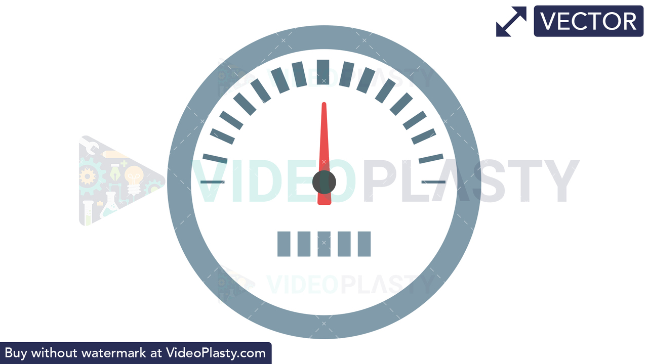 Speedometer Icon Vector Clipart