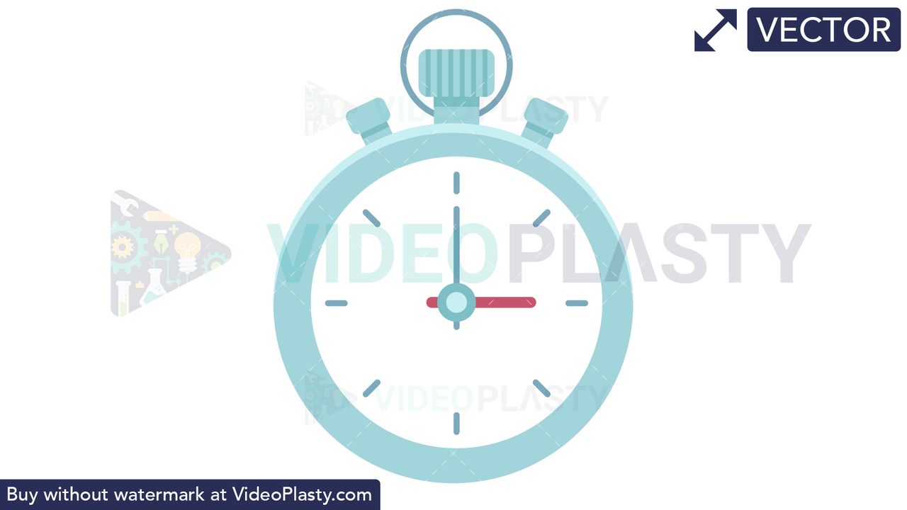 Stopwatch Vector Clipart