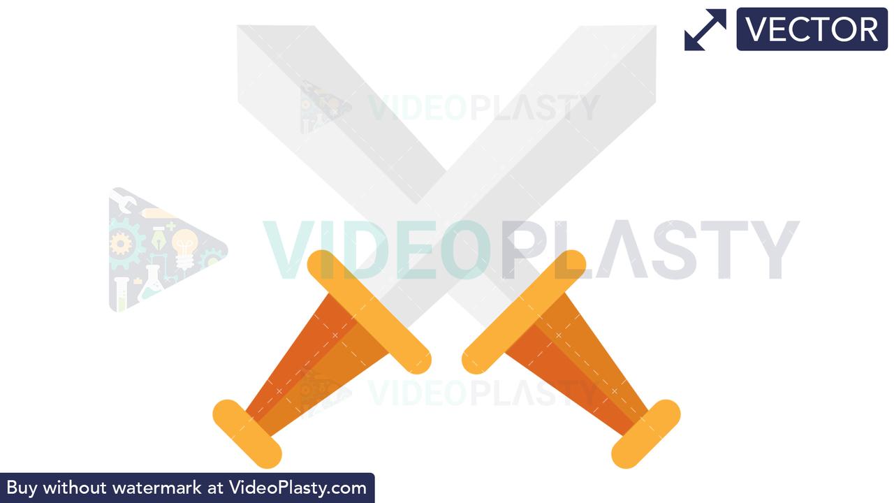 Sword Icon Vector Clipart