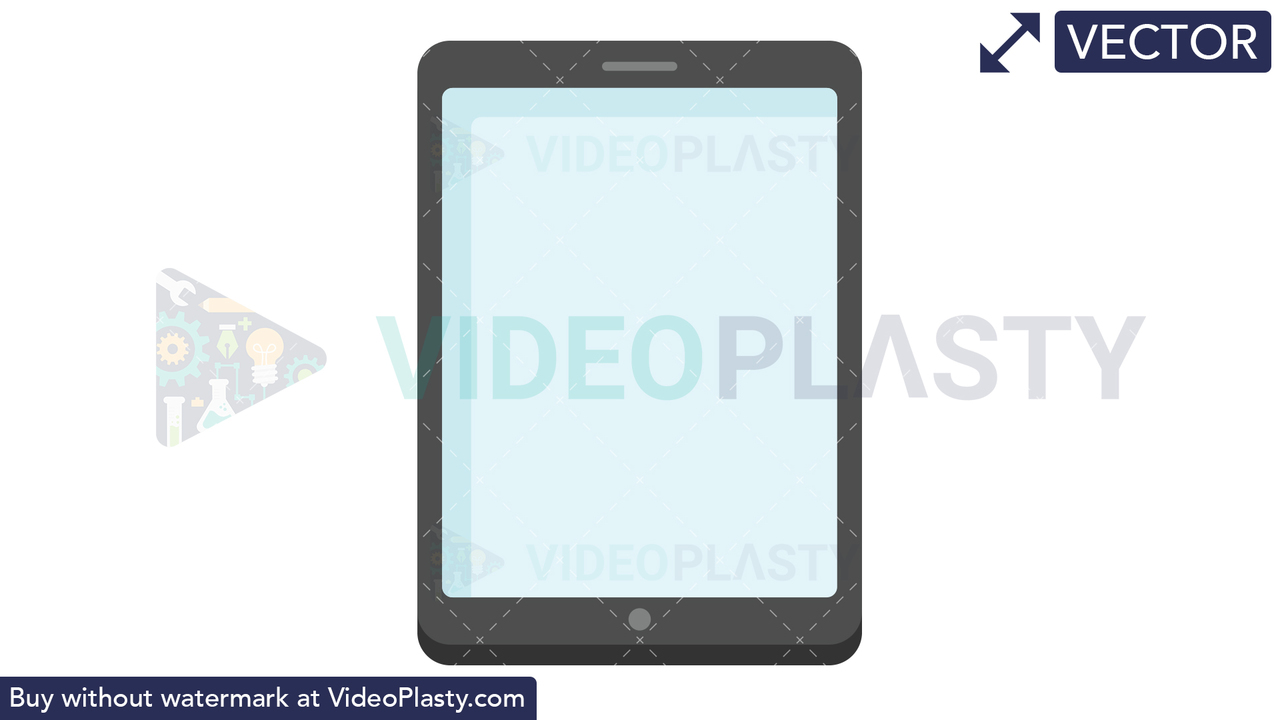 Tablet Icon Vector Clipart