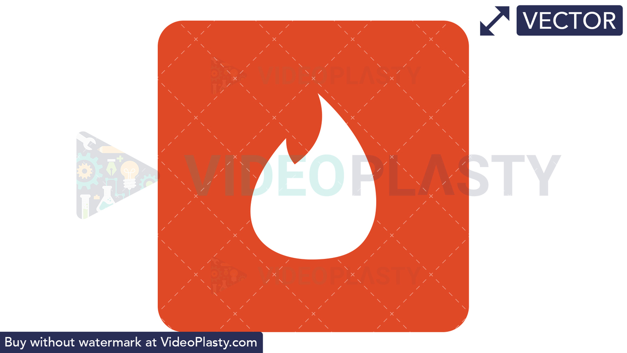 Tinder Icon Vector Clipart