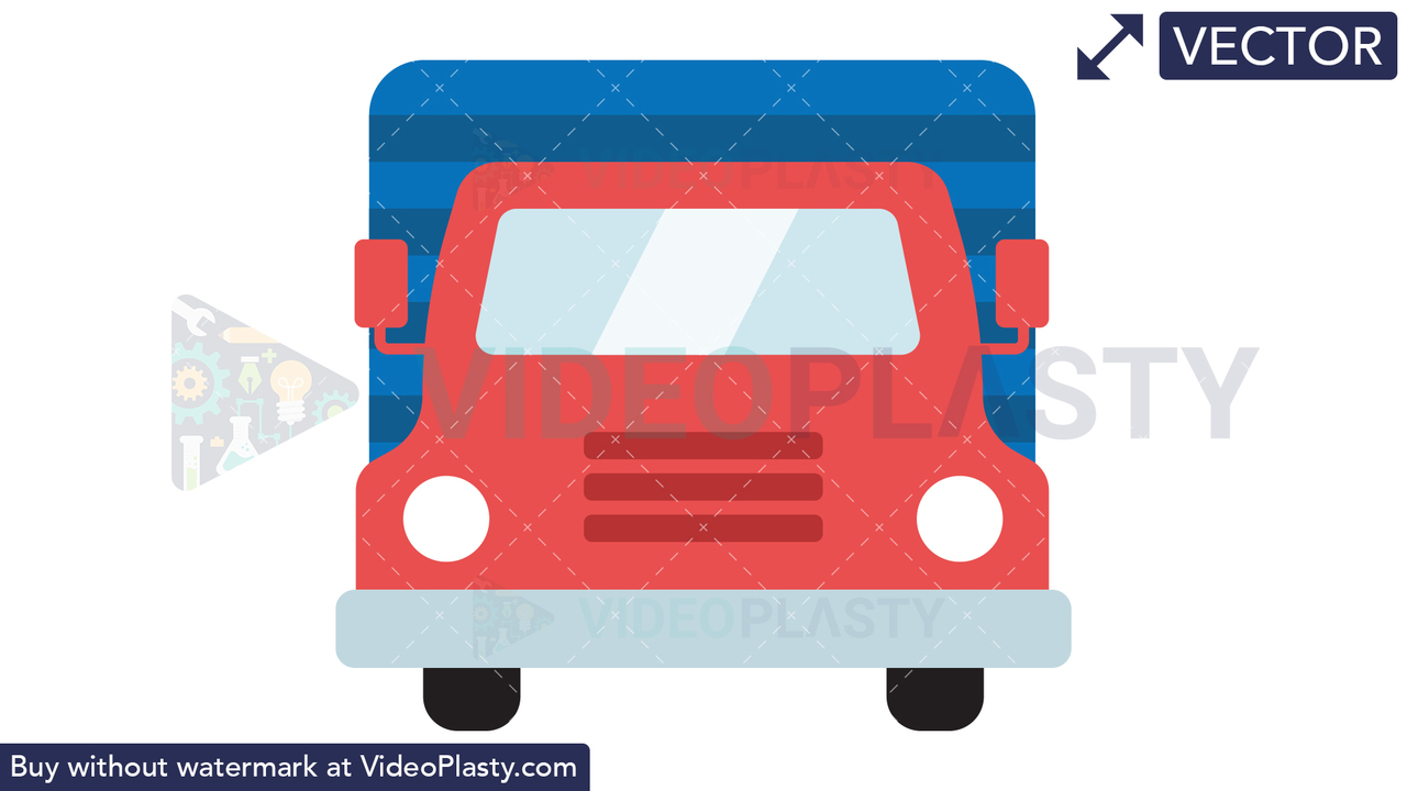 Truck Icon Vector Clipart