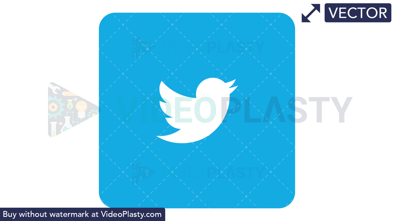 Twitter Icon Vector Clipart