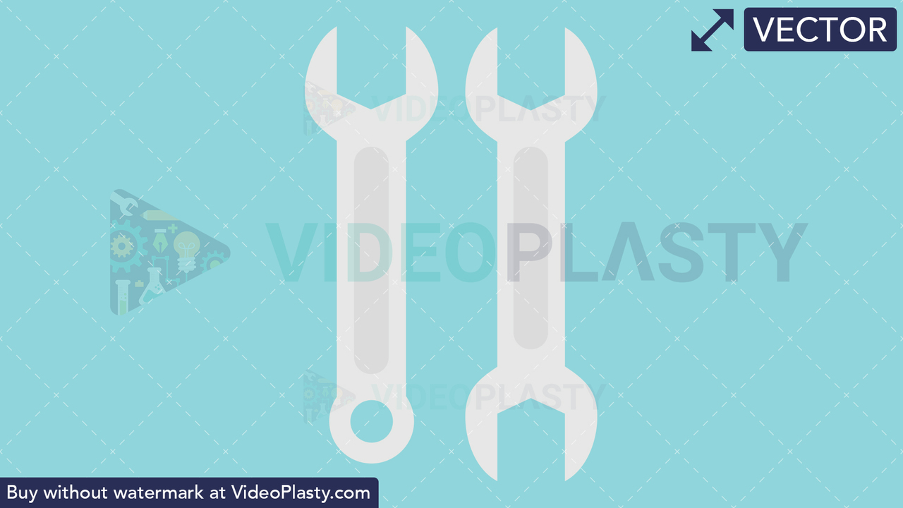 Wrench Icon Vector Clipart