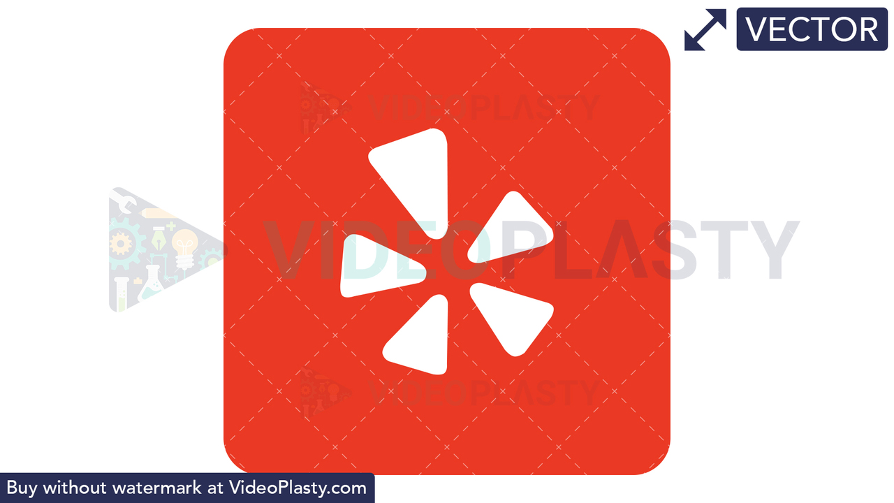 Yelp Icon Vector Clipart